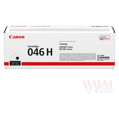 Картридж G&G до Canon 046H LBP650/MF730 series 1254C002 Black (6300 стор)