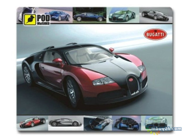 Коврик для мыши Podmyshku Bugatti