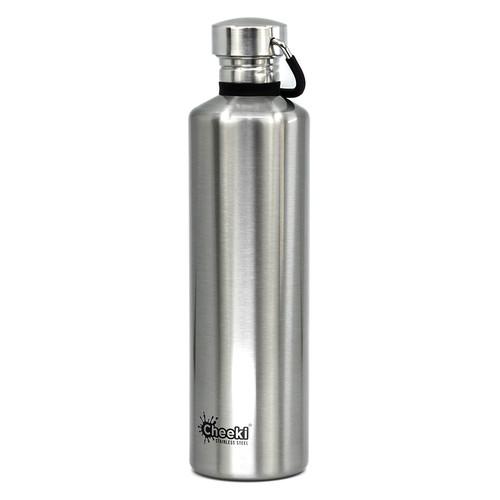 Бутылка для воды Cheeki Classic Single Wall 1 литр Silver