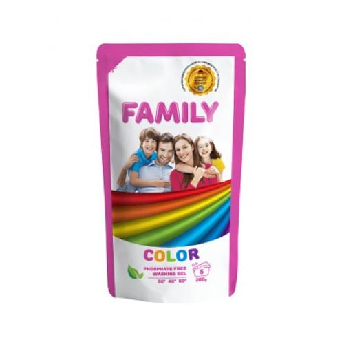 Гель для стирки цветных вещей 200 мл For My Family 601145