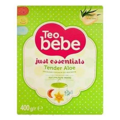 Стиральный порошок Teo bebe Алоэ для всех типов стирки 400 г (022845)