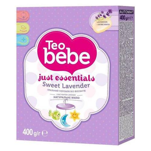 Стиральный порошок Teo bebe Лаванда автомат 400 г (022760)