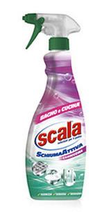 Пена-очиститель для ванны и кухни Scala Schiuma attiva-detergente per Bagno e Cucina 700 мл