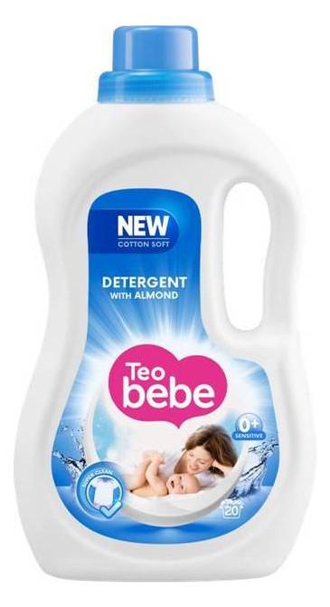 Гель для стирки ТЕО bebe Cotton Soft Almond, 1.1 л (20 стирок) 045028