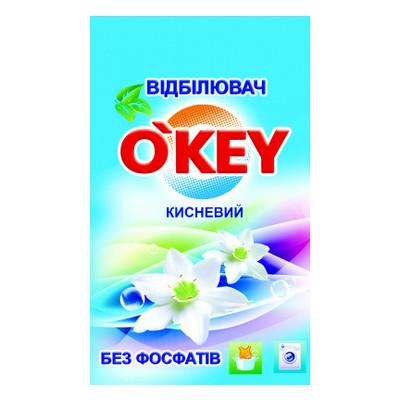 Отбеливатель Okey кислородный для белого белья 200 г (4820049381344)
