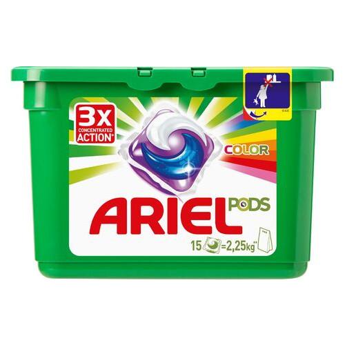 Капсулы для стирки Ariel Pods Color & Style 15шт (4015600949822)