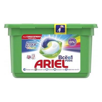 Капсулы для стирки Ariel Touch of Lenor Fresh 12 шт (8001090758187)