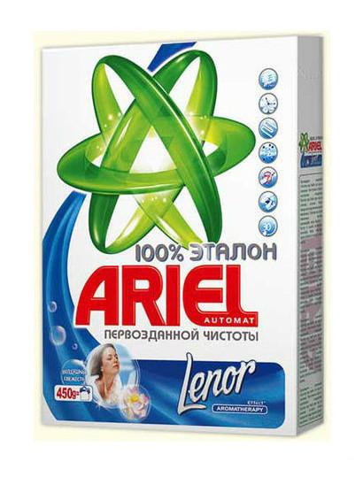 Порошок Ariel автомат 2в1 Lenor Effect 450г (s.87345)