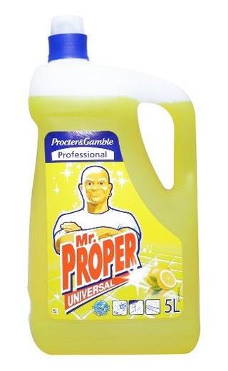 Универсальное моющее средство Mr Proper для твердых поверхностей Лимон Universal 5л