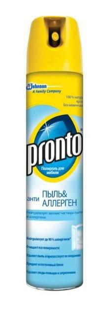 Аэрозоль Pronto 250мл Антиаллерген Антипыль (991602)