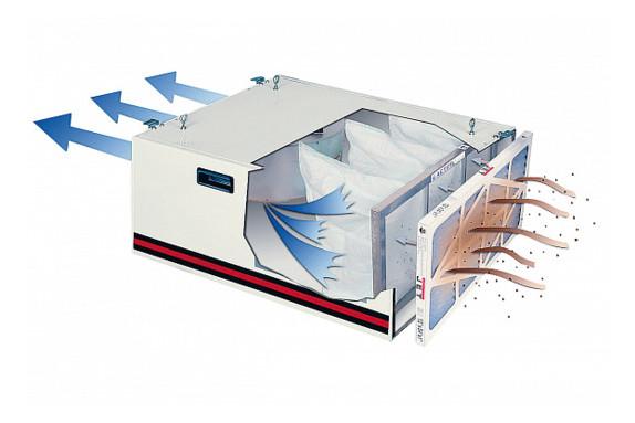Система для фильтрации воздуха JET AFS-1000B