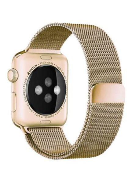 Ремешок Apple Milanese Loop для Apple Watch 42/44mm gold (1163gold)