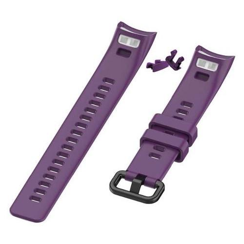 Силиконовый ремешок Primo для фитнес-браслета Huawei Honor Band 4 / 5 - Purple