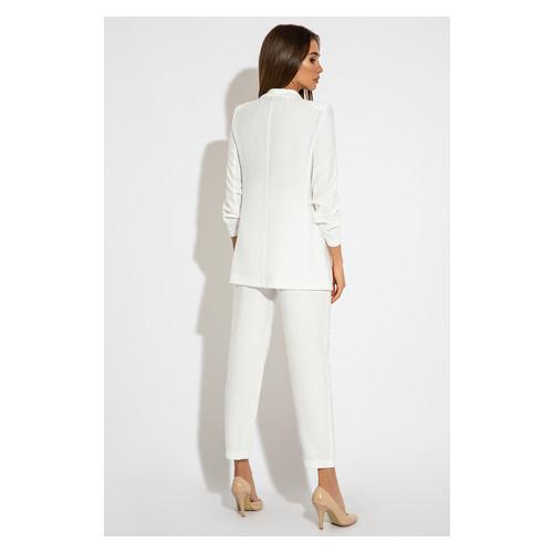 Брючный костюм 3063 42 Белый