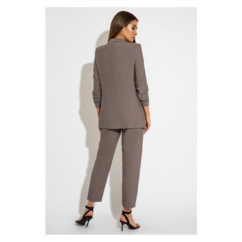 Брючный костюм 3066 46 Серый