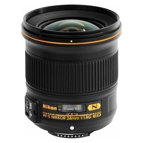 Объектив Nikon AF-S 24mm F1.8G ED