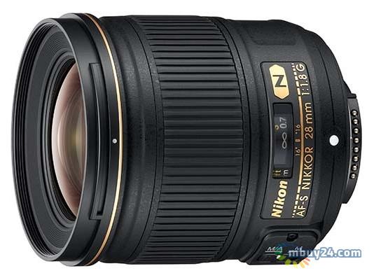 Объектив Nikon AF-S 28mm f/ 1.8G
