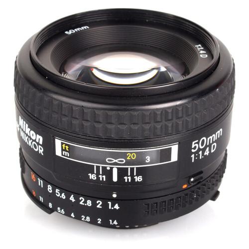 Объектив Nikon 50 mm f/1.4G AF-S Nikkor (JN63JAA014DA)