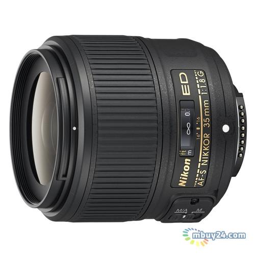 Объектив Nikon ED AF-S 35mm f/1.8G (JAA137DA)