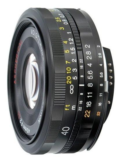 Объектив Voigtlander 40mm F/2.0 SL-II ULTRON - CANON EOS