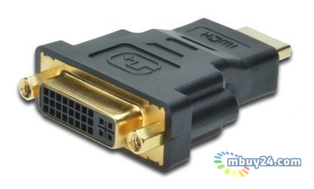 Адаптер Digitus HDMI to DVI-I(24+5) black (AK-330505-000-S)