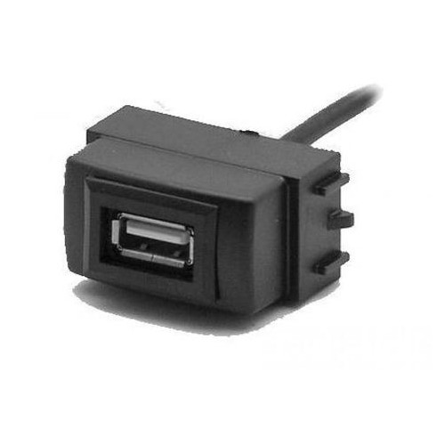 USB-разъем в штатную заглушку Carav 17-006