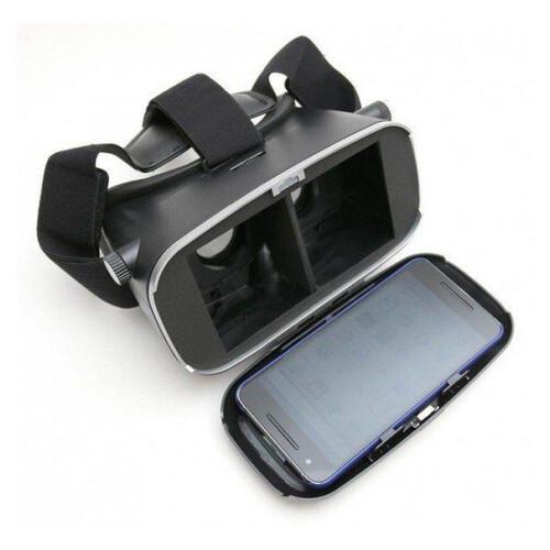 3D очки виртуальной реальности VR SHINECON c пультом, Черный