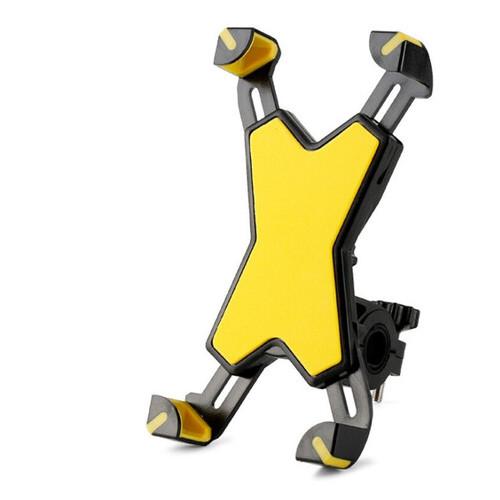 Держатель для телефона на велосипед Rockbros красный желтый (PH-666)