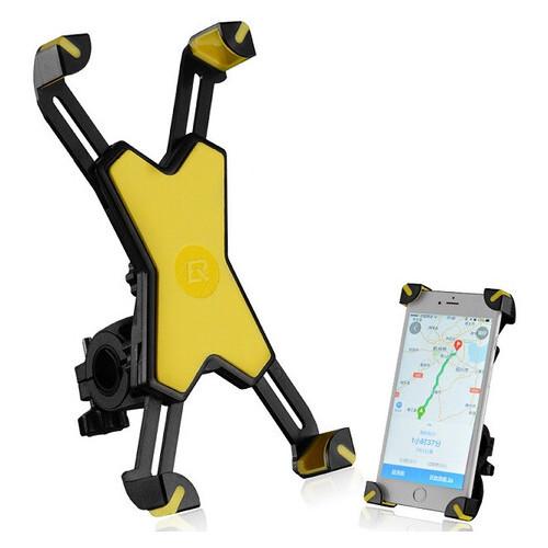 Крепление для телефона на велосипед Rockbros желтый (PH-666)