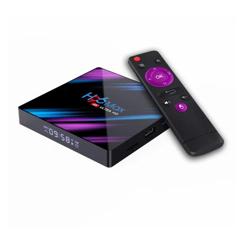 Приставка Smart Iptv TV Box H96 maх 4/64 Гб на Android 9.0