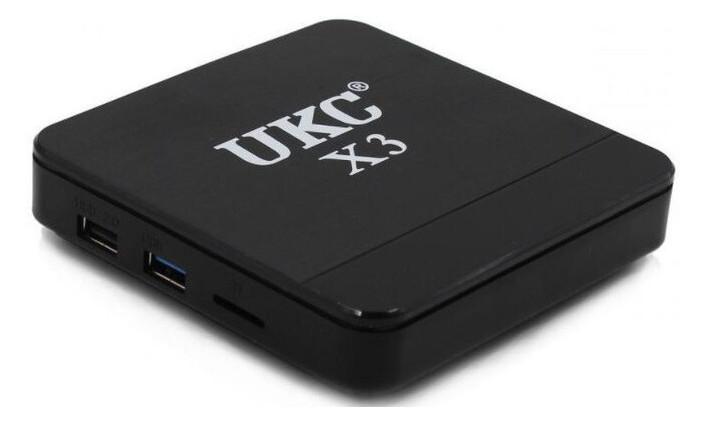 Приставка Ukc X3 MINI S905W 4GB/ 32GB с Bluetooth (ZE35014488)