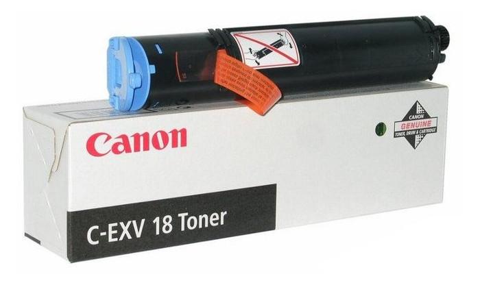 Тонер-картридж для копиров Canon C-EXV18 iR1018/1018J/1022 Black (0386B002)