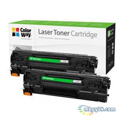 Картридж Colorway HP (CB435AF/CB436A/CE285A/Can.712/725) DUAL PACK (CW-H435/436FM)