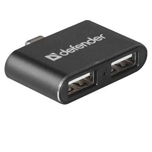 USB hub Defender Quadro Dual 2-Port (83207)