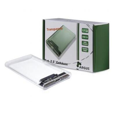 Карман внешний Argus 2.5' SATA III max 4TB USB 3.0 (GD-25000)