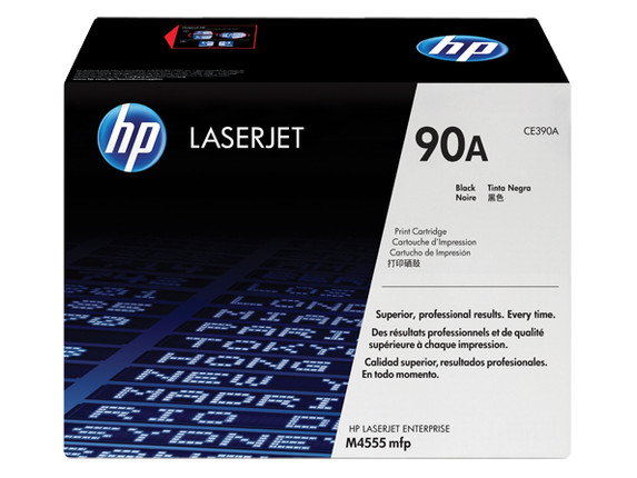 Пустой картридж для заправки HP LJ CE390A Empty Virgin