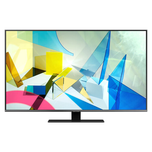 Телевизор Samsung 75 QLED 4K QE75Q80TAUXUA Smart Tizen Silver (JN63QE75Q80TAUXUA)
