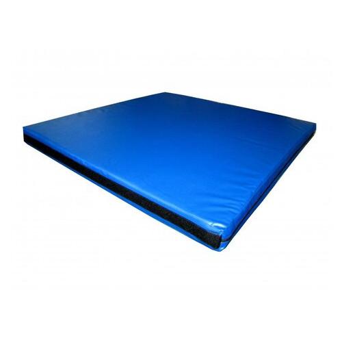 Мат спортивный Tia-Sport 120х80х10 см синий (sm-0113)