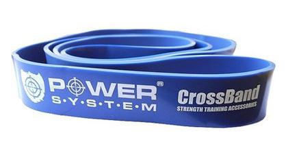 Резина для тренировок Power System CrossFit Level 4 Blue PS-4054
