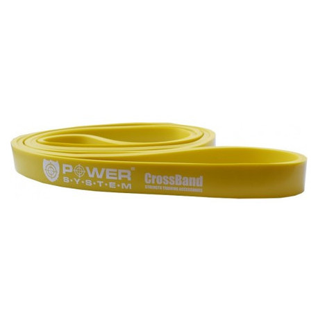 Резина для тренировок Power System CrossFit Level 1 PS-4051 Yellow