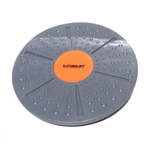 Баланс борд LiveUp Balance Board 39x8-10 Gray-orange (LS3151A)