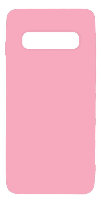 Чехол-накладка Toto Matt 1.0mm Tpu Case Samsung Galaxy S10 Pink
