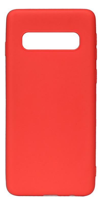 Чехол-накладка Toto Matt 1.0mm Tpu Case Samsung Galaxy S10 Red