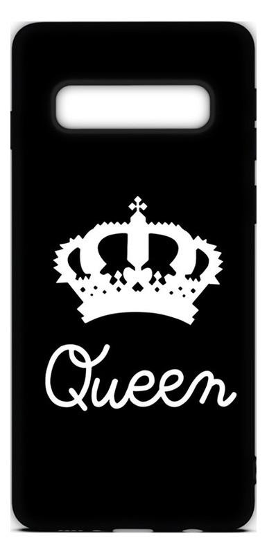 Чехол-накладка Toto Cartoon Soft Silicone TPU Case Samsung Galaxy S10 Queen Black