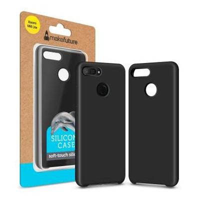 Чехол для телефона MakeFuture Silicone Case Xiaomi Mi8 Lite Black (MCS-XM8LBK)