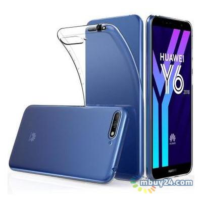 Чехол для телефона Laudtec Huawei Y7 Prime 2018 Clear tpu Transperent (LC-YP2018)