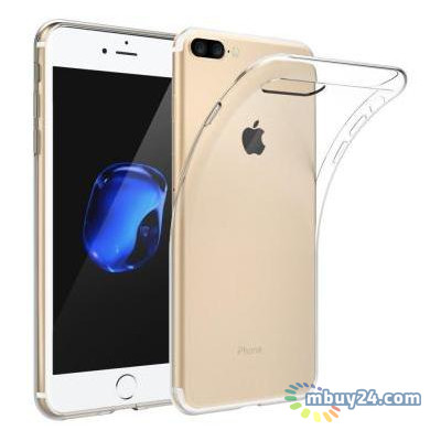 Чехол для телефонов Laudtec iPhone 7/8 Plus Clear TPU Transperent (LC-IP78PST)