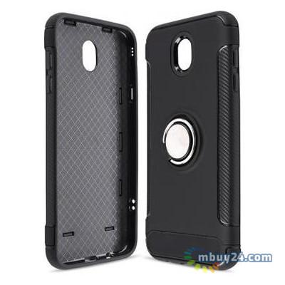 Чехол для телефонов Laudtec Samsung J7 2017/J730 Ring stand Black (LR-J730-BC)