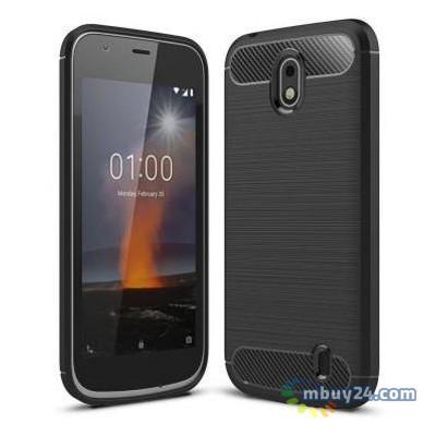 Чехол для мобильного телефона Laudtec Nokia 1 Carbon Fiber Black (LT-N1B)