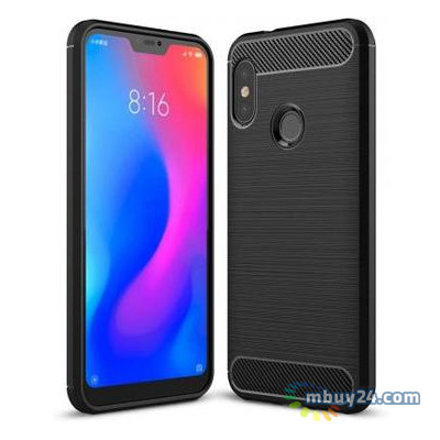 Чехол для мобильного телефона Laudtec Xiaomi Redmi Note 6 Pro Carbon Fiber Black (LT-XRN6P)